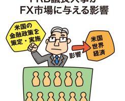 FRB議長人事がFX市場に与える影響