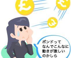 ドルやユーロに従属的なポンドの特徴